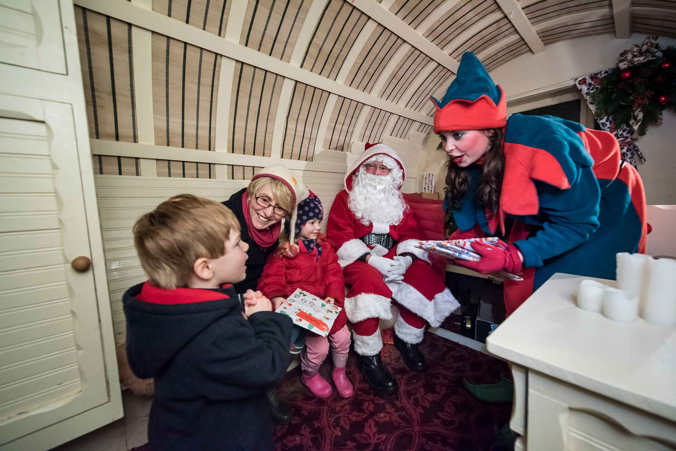 bolton-abbey santa claus christmas