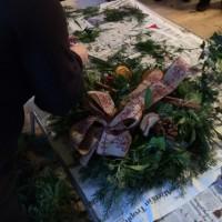 Bolton Abbey Christmas Wreath Workshop landing image
