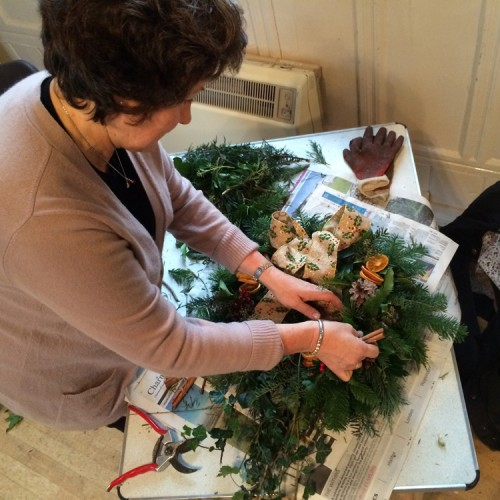 Bolton Abbey Christmas Wreath Workshop large