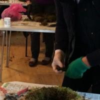 Bolton Abbey Christmas Wreath Workshop long