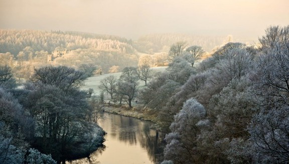 Frosty Bolton Abbey Estate