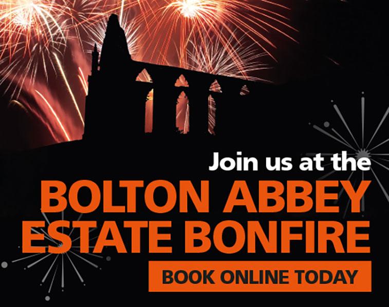 Bolton Abbey Bonfire Night 2017