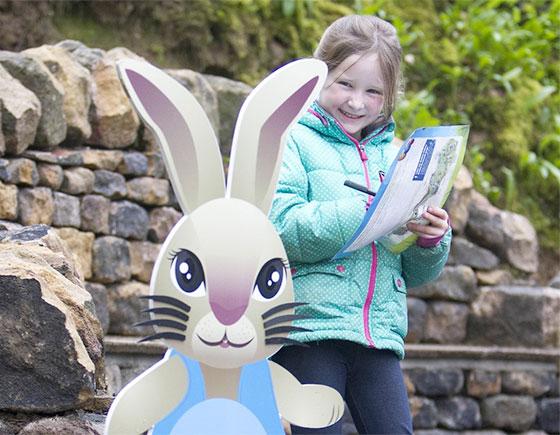 bolton abbey easter egg hunt