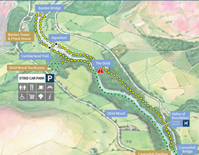 Bolton Abbey Map Planning your visit to Bolton Abbey Bolton Abbey Map