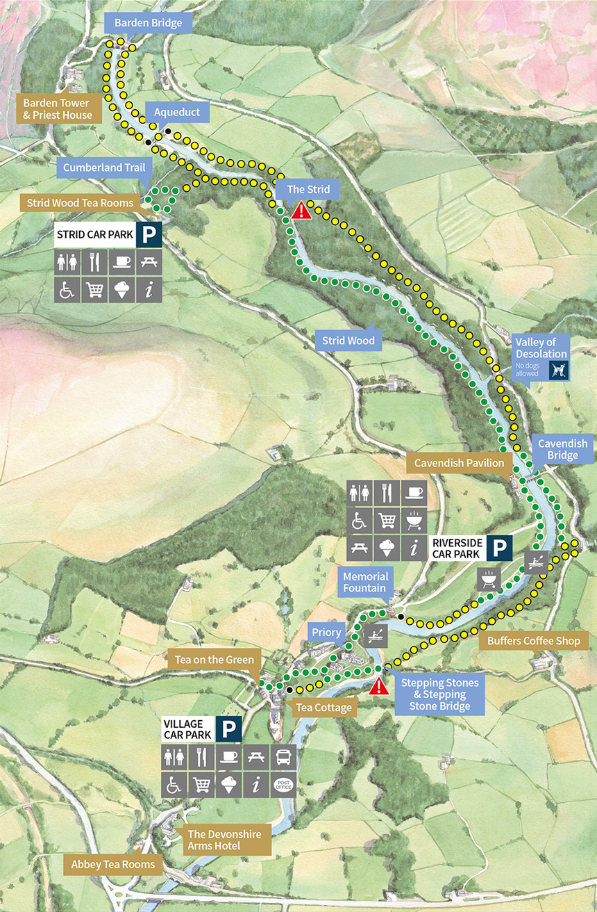 Map Of Bolton Interactive Map | Bolton Abbey Estate