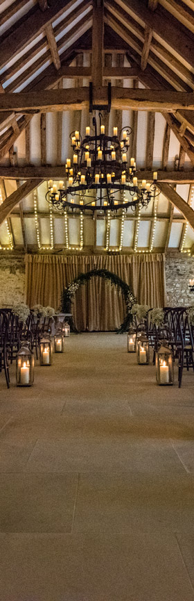Inside Tithe Barn