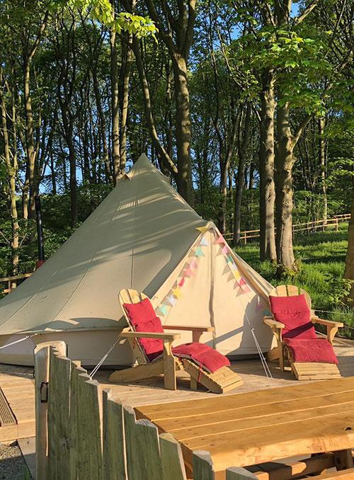 catsgill campsite tent 2019