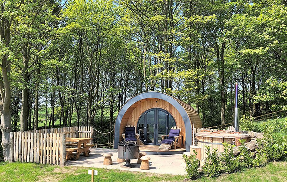 bolton abbey glamping hut 2019